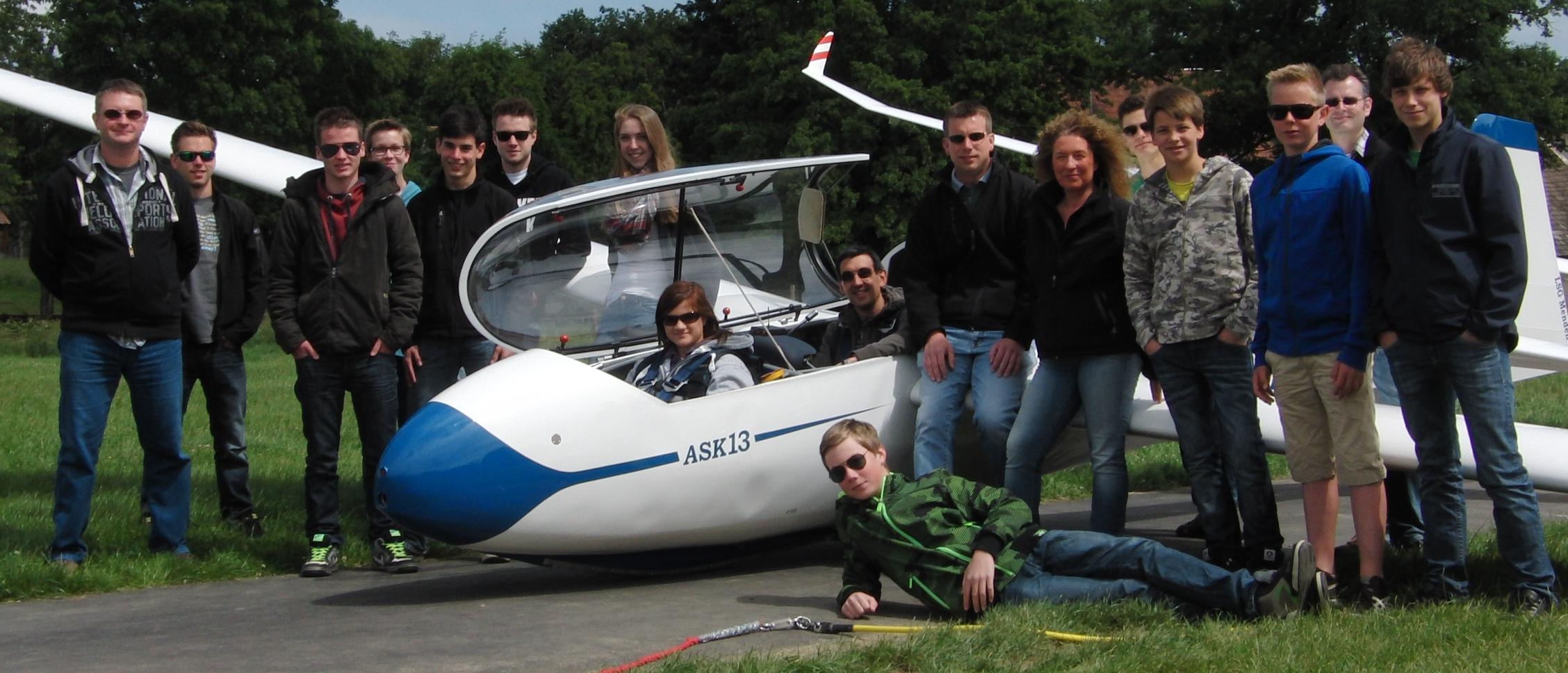 Neue Fluglehrer Bernd und Raphael