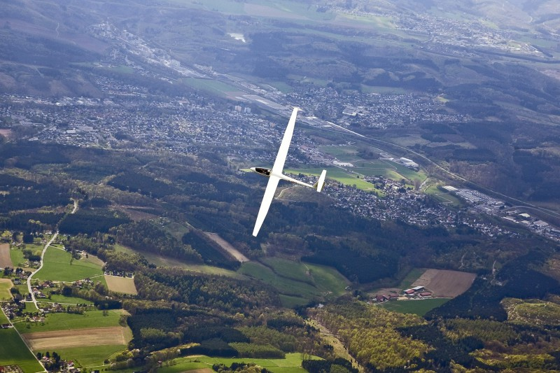 LSG Menden 2011 – Luftbild im April