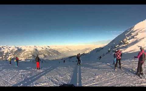 Skiing Zillertal
