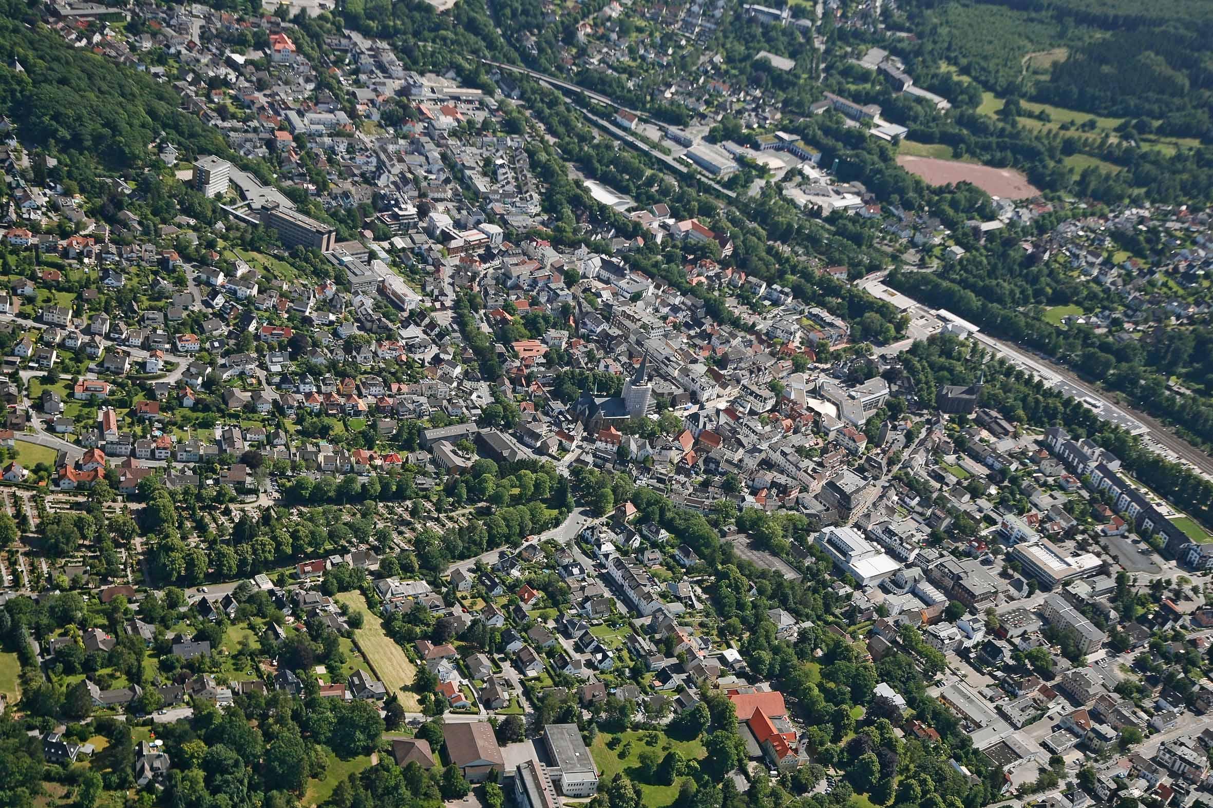 Luftbilder – Juli 2015 – Menden-Barge und Umgebung