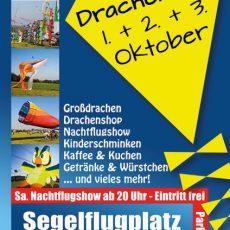 Drachenfest am 01. bis 03. Oktober 2016