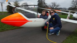 Meine Flugsaison mit dem Förderflugzeug