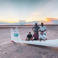 1070 Kilometer mit dem Segelflieger – Fliegen in Namibia
