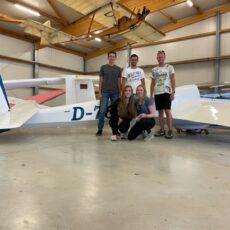 Noah Saß ist jetzt Fluglehrer!